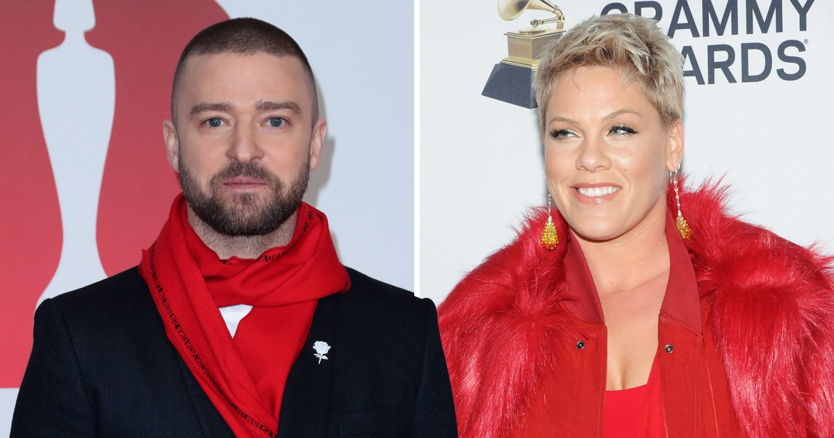 Justin Timberlake backs up Pink after she cancels Sydney concert