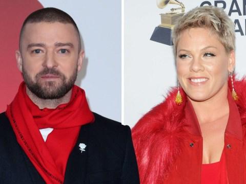 Justin Timberlake backs up Pink after she cancels Sydney concert