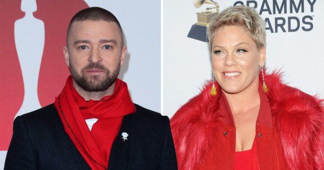 JT is in Pink's corner after singer defended her reasons for missing Australian show