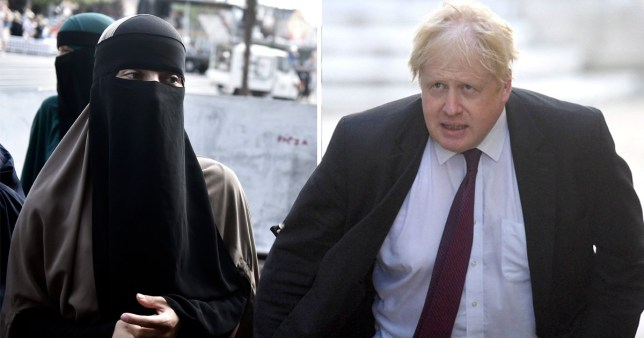 Boris Johnson says women who wear the burka look like 'letterboxes' and 'bank robbers'