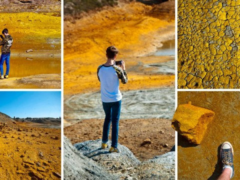 The heatwave has turned parts of Cornwall into a Martian wasteland