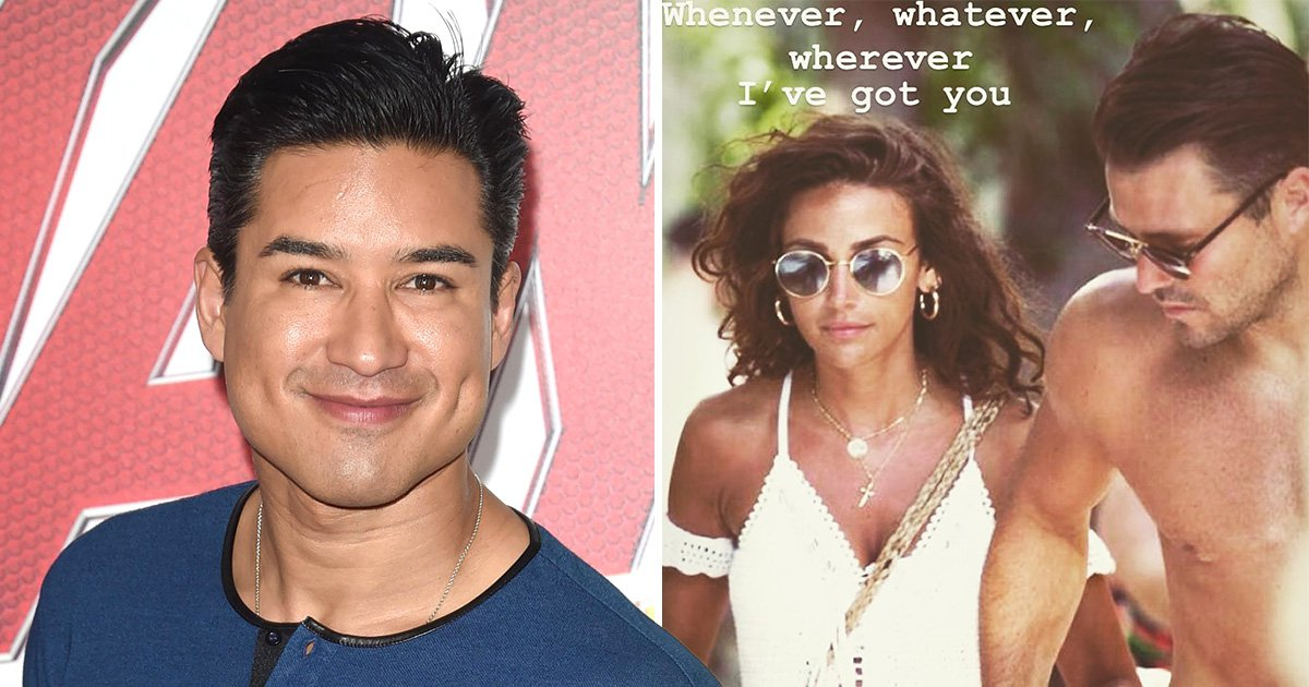 Mario Lopez surprised Michelle Keegan 'exists' as he trolls pal Mark Wright