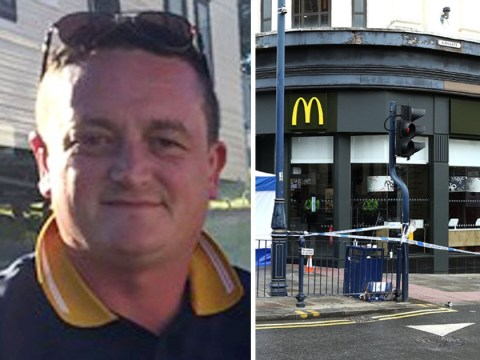 Boy killed man with single punch went into McDonald's then fist-bumped his friend