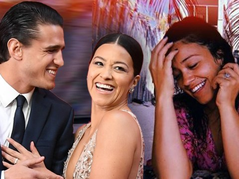 Gina Rodriguez confirms engagement to Joe LoCicero: 'I'm stuck with that man for life'