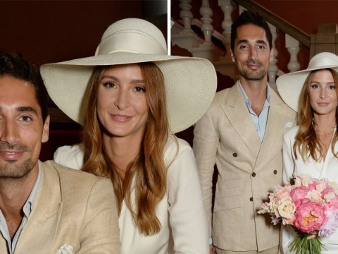 Millie Mackintosh reveals she wore a suit for secret first wedding to Hugo Taylor