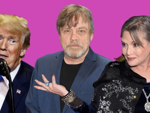 Mark Hamill thinks Donald Trump's Hollywood Walk of Fame star should be replaced by Carrie Fisher