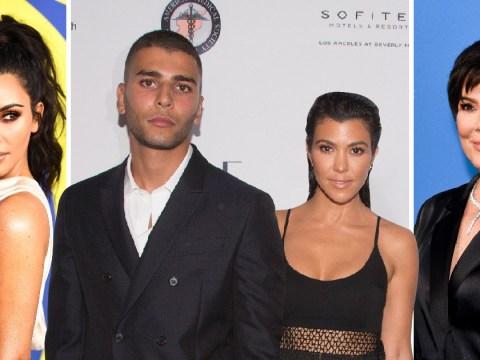 Kim Kardashian and Kris Jenner 'glad' Kourtney split with model beau Younes Bendjima