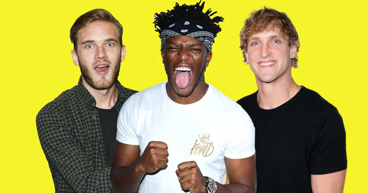 KSI slams PewDiePie for 'ruining lives with anti-Semitic video' ahead of Logan Paul boxing match