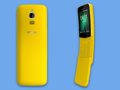 The legendary 90s Nokia 8110 'banana phone' is about to go back on sale