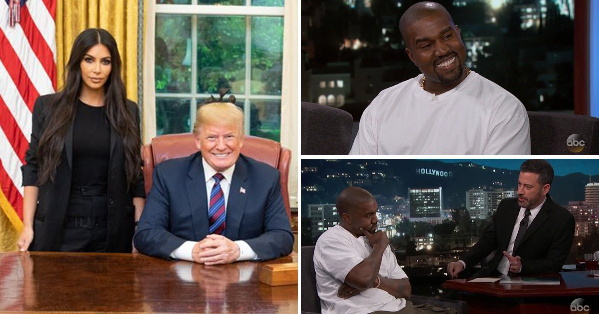 Kanye West isn't worried about Kim Kardashian being in the same room as Trump even though he's a 'player'