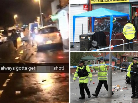 Ten people shot after street party in Manchester