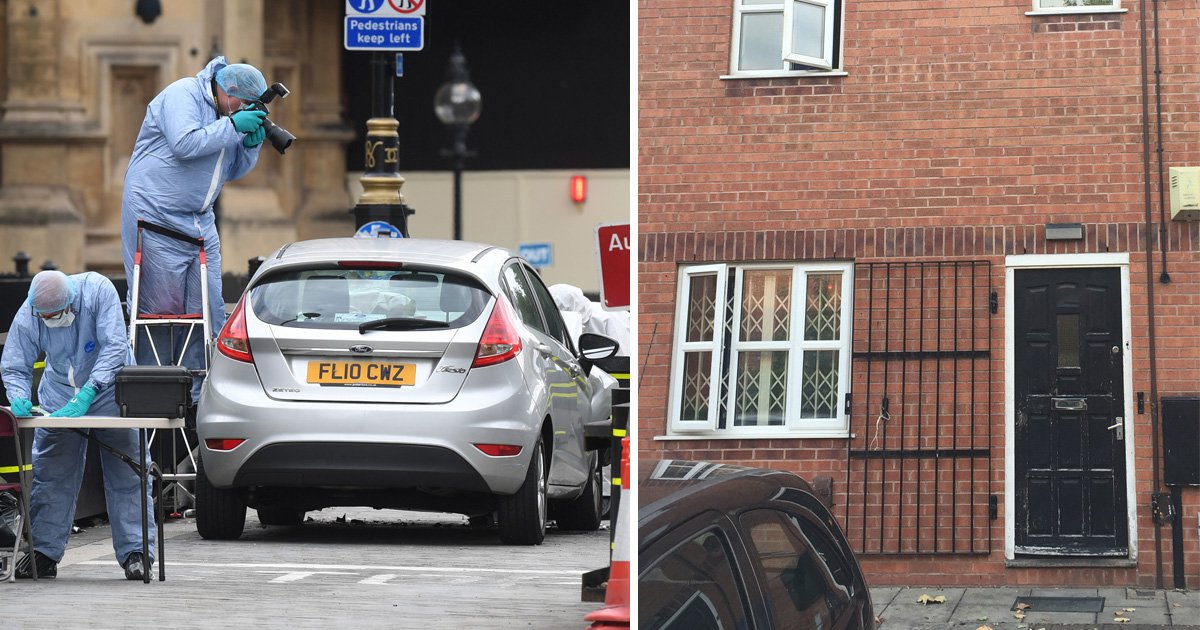 Police search homes in Midlands after Westminster terror attack