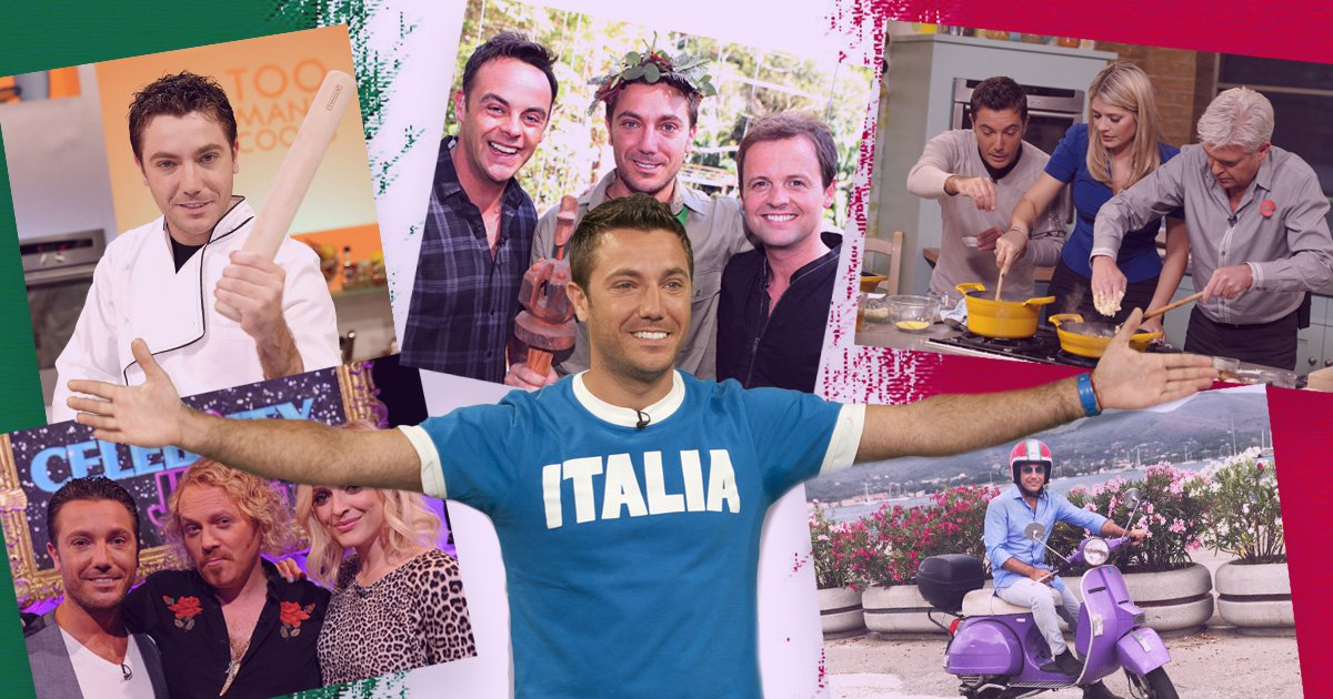 A look at Gino D'Acampo's rise to fame and fortune as the Italian Fantastico which all started with robbing musician Paul Young