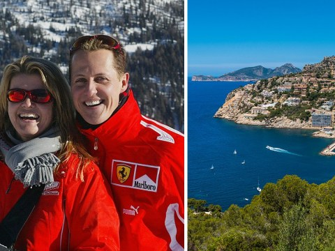 F1 star Michael Schumacher 'to be transferred to £27,000,000 Majorcan mansion'