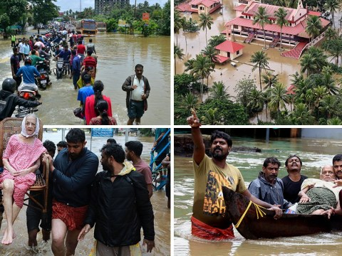 At least 324 killed in 'worst floods in 100 years' to hit south India