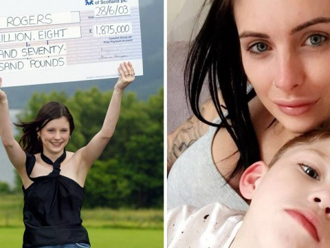 Britain's youngest Lottery winner regrets not saving her millions for disabled son