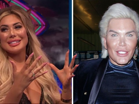 'He didn't mean to say it': Chloe Ferry defends CBB's Rodrigo Alves after he uses the n-word twice