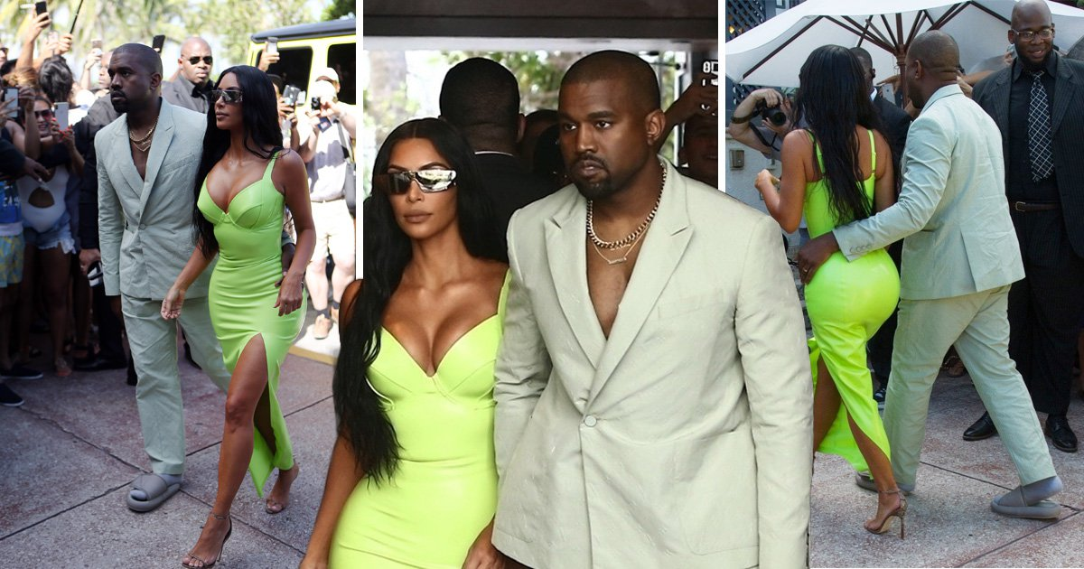 Kanye West rocks up to 2 Chainz wedding shirtless and wearing Yeezy slippers