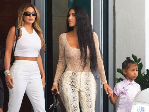 Kim Kardashian has clearly been teaching North West a thing or two about fashion