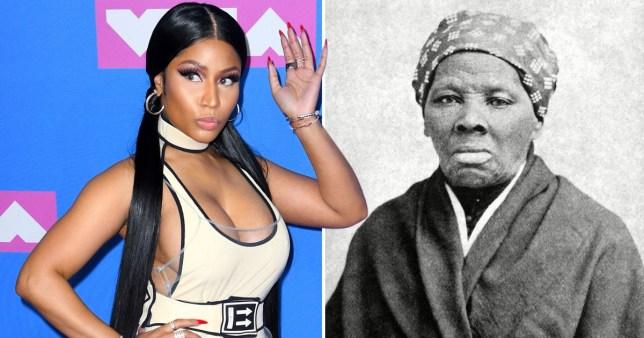 Nicki Minaj calls herself the new Harriet Tubman