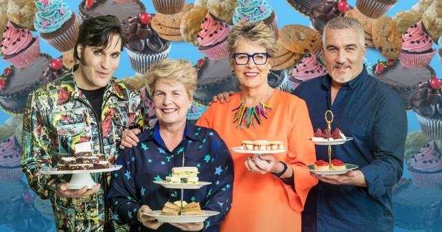 There's a few 'showstopper suicides' on this year's GBBO