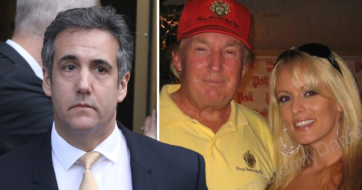 Donald Trump's ex-lawyer claims he worked with president 'to pay-off porn stars'