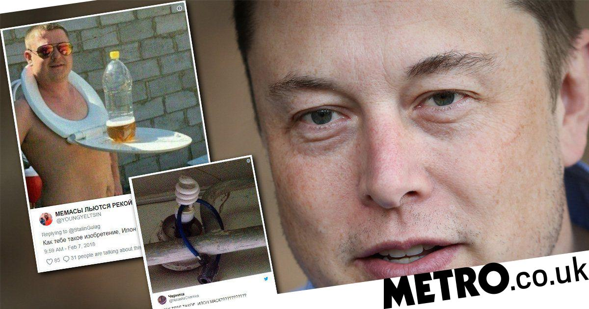 Russians are trolling Elon Musk and barraging him with hilarious