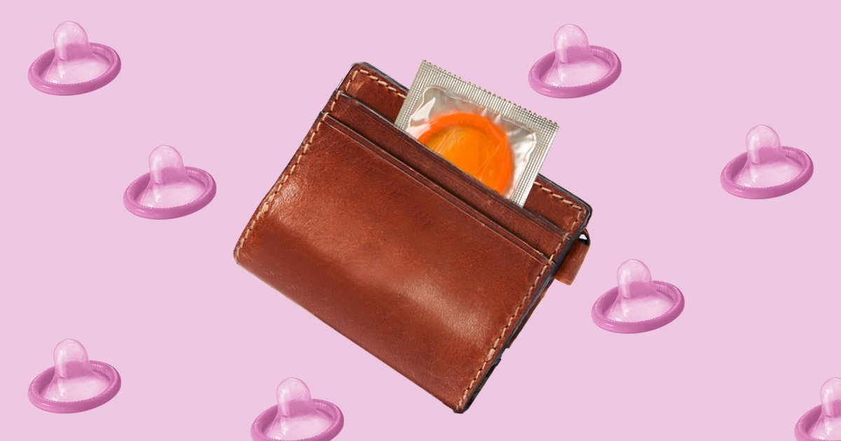 Why you shouldn't keep a condom in your wallet or pocket