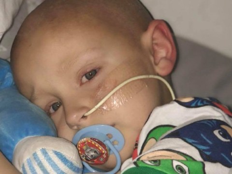 Parents of cancer patient, 5, end fundraising as his treatment costs too much
