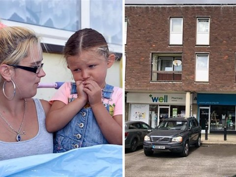 Charity shop flooded after mum puts 8ft paddling pool on the roof