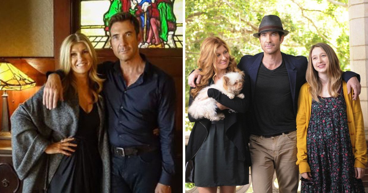 American Horror Story's The Harmons are back in the Murder House as Connie Britton and Dylan McDermott start filming