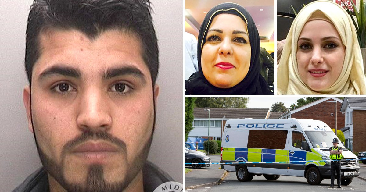 Young mum 'killed in double murder' was on phone to police when she was attacked
