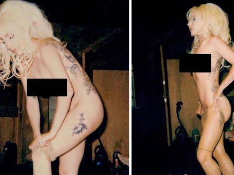 Lady Gaga posts three completely nude photos on Instagram and it needs no explanation