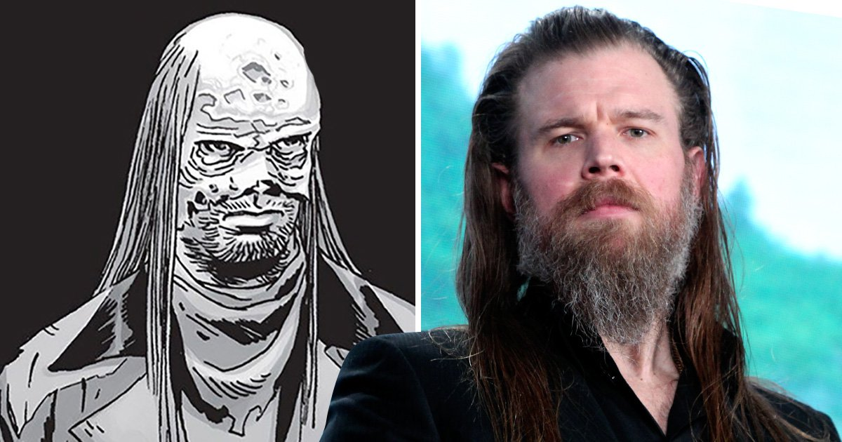 The Walking Dead season 9 casts Sons of Anarchy star as major villain from the comics