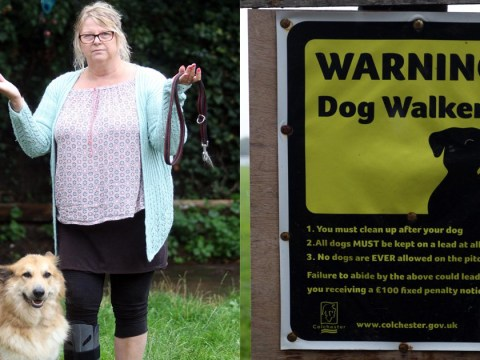 Woman fined £1,000 for walking her dog off the lead