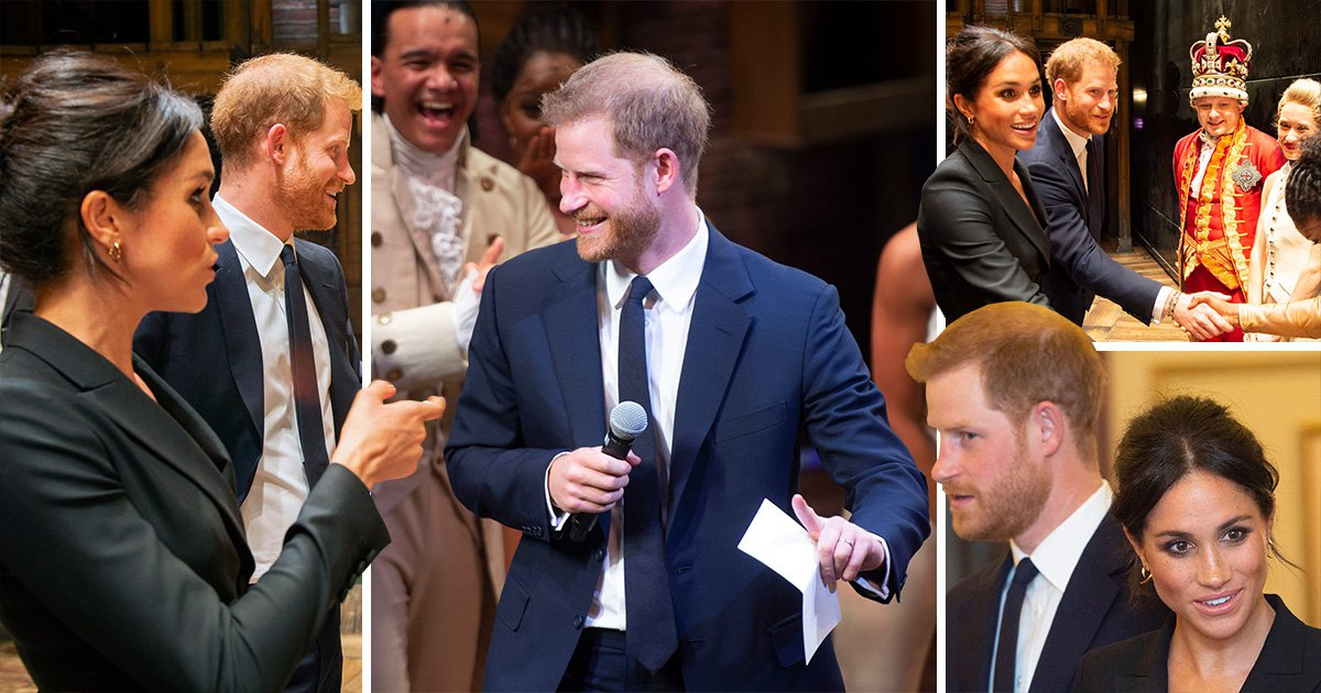 Prince Harry breaks into song for Meghan after going to see Hamilton