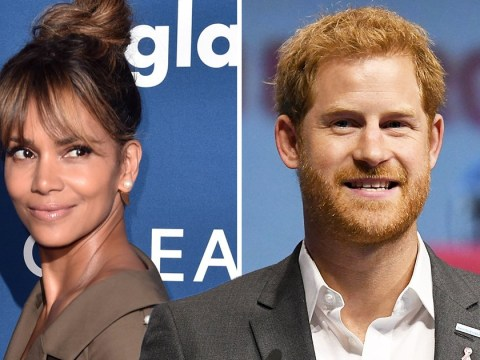 Halle Berry calls out Prince Harry after discovering he had poster of her on dorm room wall