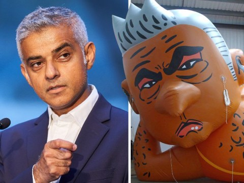 Flying the Sadiq Khan balloon is not an exercise of free speech – it is a party for bigots