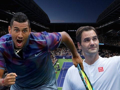 Dangerously unpredictable Nick Kyrgios finds certainty in Roger Federer match-up