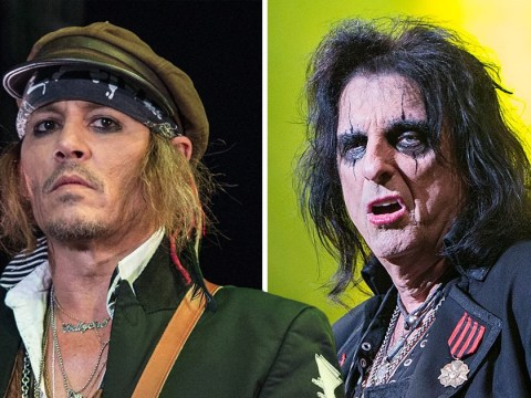 Alice Cooper claims Johnny Depp is the 'happiest and healthiest he's ever been' despite recent health concerns