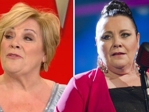Former X Factor star 'Tesco' Mary Byrne rocks one heck of a makeover as she makes live TV appearance