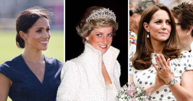 princess diana was never actually a princess just like kate and meghan metro news princess diana was never actually a
