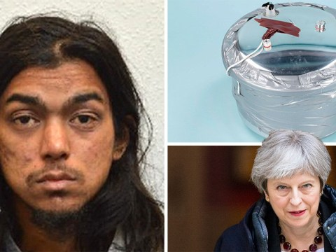 Terrorist who planned to assassinate Theresa May is jailed for 30 years