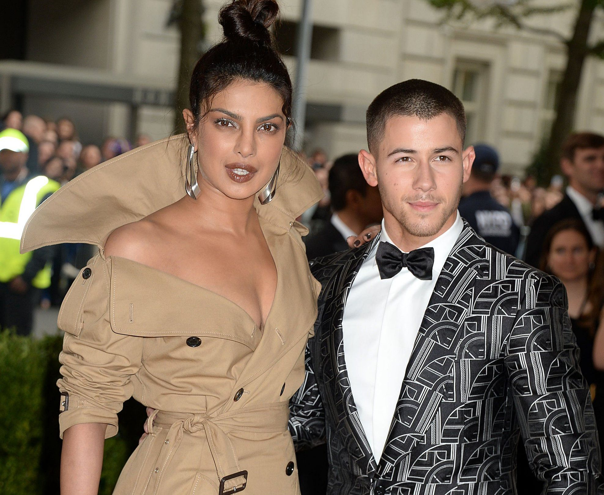 Mandatory Credit: Photo by Broadimage/REX/Shutterstock (8773327gs) Priyanka Chopra, Nick Jonas The Costume Institute Benefit celebrating the opening of Rei Kawakubo/Comme des Garcons: Art of the In-Between, Arrivals, The Metropolitan Museum of Art, New York, USA - 01 May 2017 2017 Costume Institute Benefit celebrating the opening of Rei Kawakubo/Comme des Gar?ons: Art of the In-Between