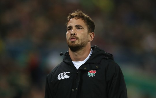 BLOEMFONTEIN, SOUTH AFRICA - JUNE 16: Danny Cipriani of England looks on during the second test match between South Africa and England at Toyota Stadium on June 16, 2018 in Bloemfontein, South Africa. (Photo by David Rogers/Getty Images)