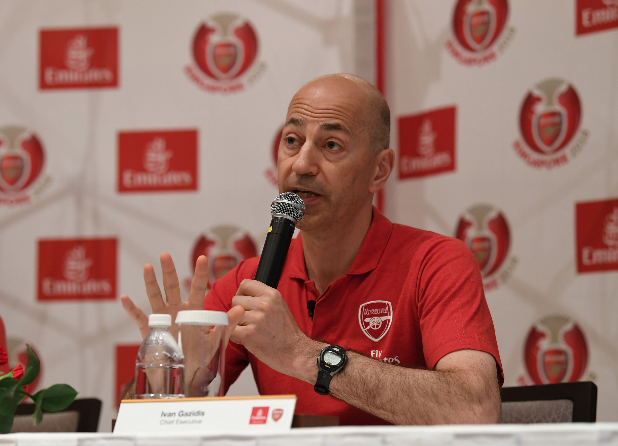 AC Milan target Arsenal midfielder Aaron Ramsey after closing in on Ivan Gazidis appointment