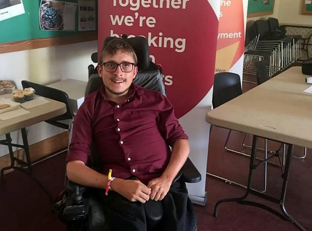 A disabled student has come up with a top ten list of do's and dont's - when dating a WHEELCHAIR user. See story SWDISABLED. Joshua Reeves, 21, has cystic fibrosis and was spurned into making the guidelines after a string of unsuccessful dates. His Tinder profile describes himself as 'wheels that give you feels' but said most of his potential dates reach a dead end after he mentions his disability. He became fed up of the romantic taboo surrounding disabled people and hopes his list will break the stigma. Joshua, from Cardiff, Wales, has compiled a list - including not asking your date 'where your carer' is. Other tips include don't use terms such as 'brave' or 'hero', don't offer sympathy and don't offer to push them to the loo. Joshua said: ?We message and the conversation flows but as soon as I say I?m in a wheelchair they go cold. ?It?s not as harsh as it sounds as they say they?ll still meet me when I ask if it?s changed their view. ?They just stop responding. Which in a way is worse. But I think they?re scared off because they just think I?ll be completely dependent on them. ?I?m just looking for someone to love me.''