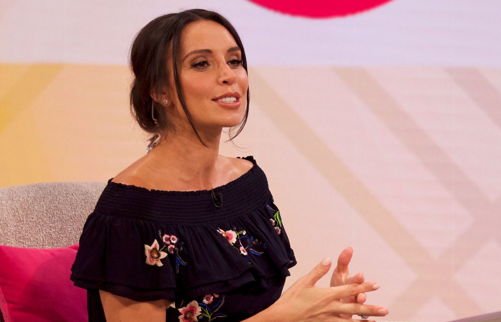 Where is Lorraine as Christine Lampard steps in for daytime host?