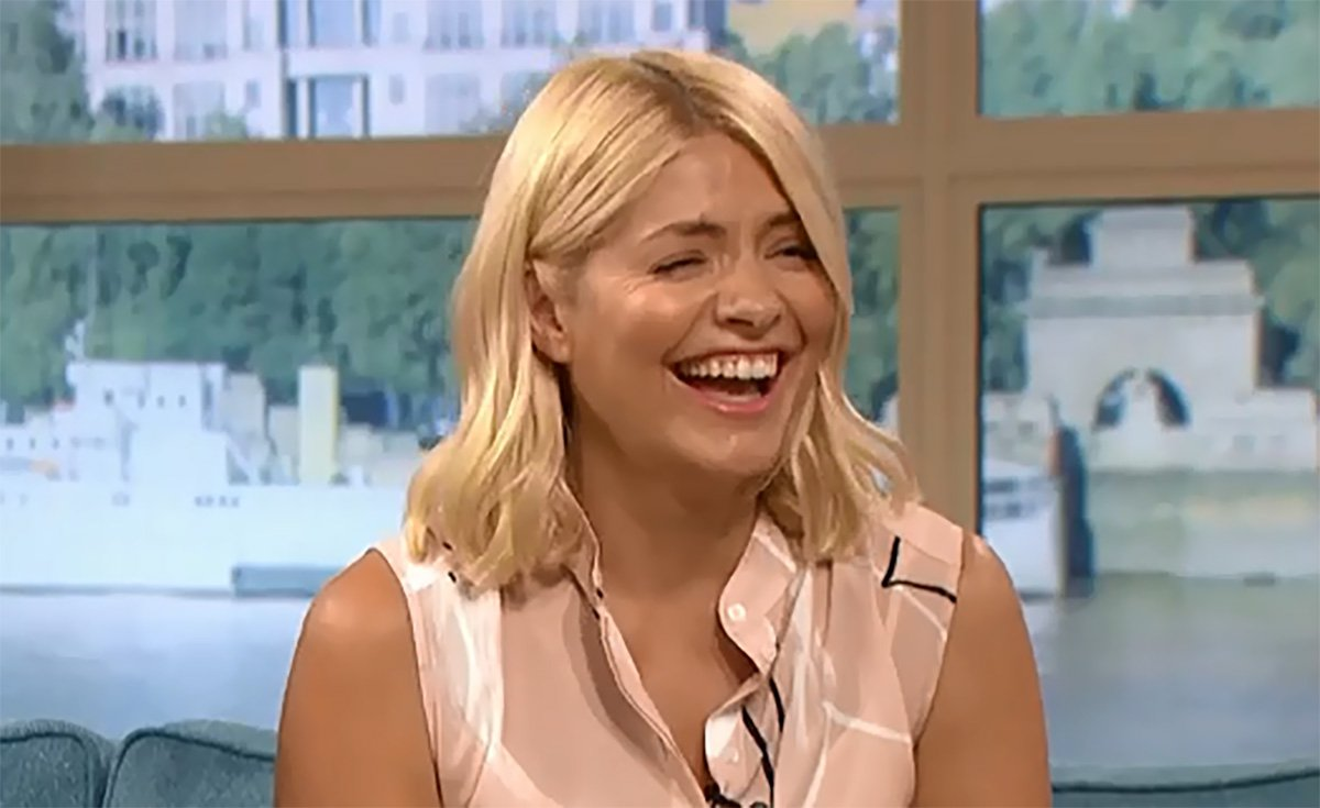 Holly Willoughby and Phillip Schofield return to This Morning for All Saints interview Credit: ITV