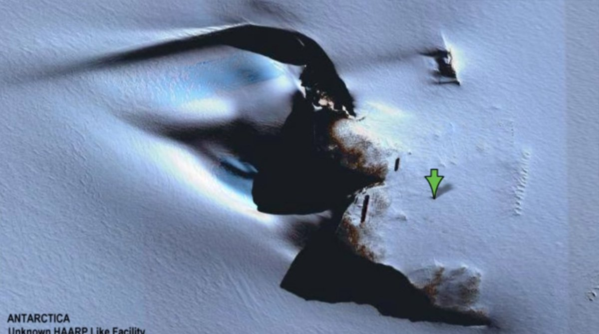 Antarctic mystery as bizarre 'pyramid' is censored from Google Maps METRO GRAB taken from: https://www.youtube.com/watch?v=jlpHUAd_QXk Credit: The Stir Podcast